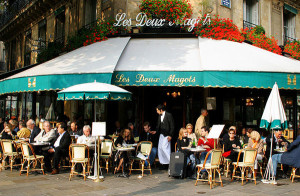 les deux magots in paris france