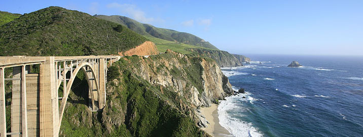 majestic big sur coastline in california -tour the coast with terroirs travel from paso robles
