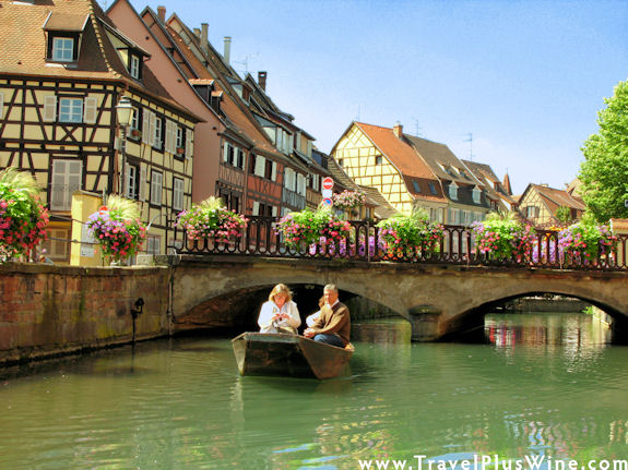 France's Alsace wine region seems a world apart from the rest of France.