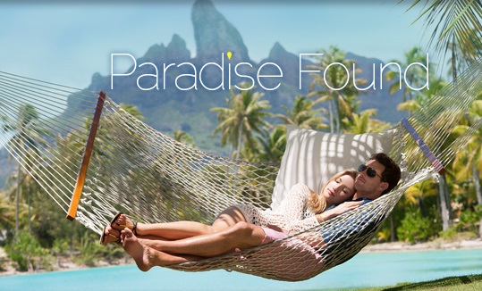 beach paradise image